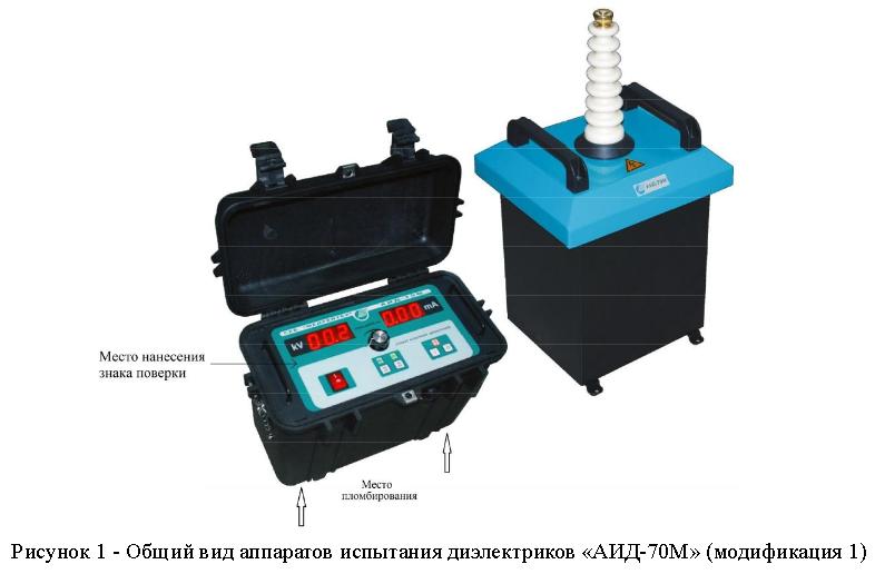 Аппарат испытания диэлектриков «АИД-70М»