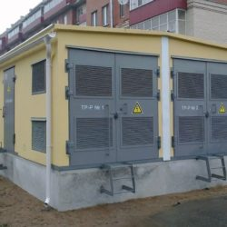 Строительство подстанций  10/0,4 кВ.