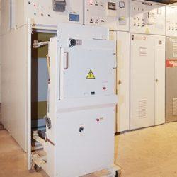Монтаж комплектного распределительного устройства КРУ-2-10м