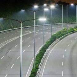 Освещение автомобильных дорог, подъездов к объектам