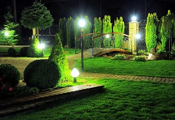 Освещение парков, скверов