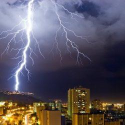 Расчет для проектирования параметров токов молнии