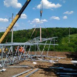 Проект организации строительства воздушной линии
