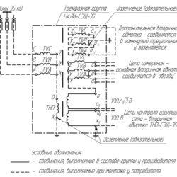 Монтаж антирезонансной трехфазной группы НАЛИ-СЭЩ-35