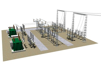 Компоновка и конструктивная часть РУ 35, 110 (150) кВ