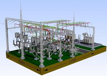 Проектирование площадки под строительства подстанции