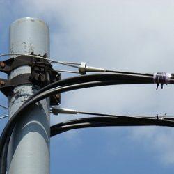 Линия электропередачи с применением УПСК, размещение