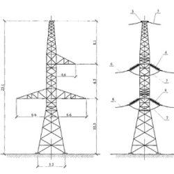 Проектирование воздушной линии ВЛ 6 - 20, 35, 110 (150) кВ