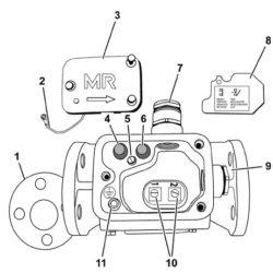 Защитное реле RS для защиты устройства РПН и трансформатора